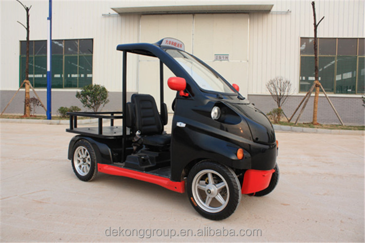 Left steering 60V electric mini delivery pickup truck for sale