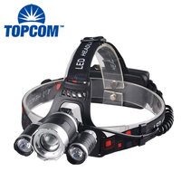 High Power Outdoor Zoom 1000 Lumen T6 LED 18650 Battery Waterproof Rechargeable Head Torch