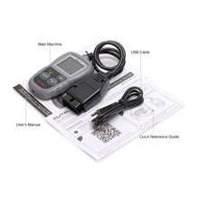 Turns off Malfunction Indicator Light (MIL) clears codes and resets monitors Autel Autolink ML319 car diagnose machine