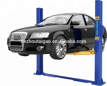 4.0T Hydraulic 2 Posts Car Lift / Auto Hoist Lift / Double Cylinder TG-4000