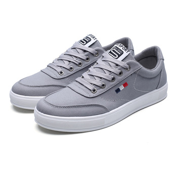 Men sports shoe 2018 canvas casual custom skateboard shoes size 39-44