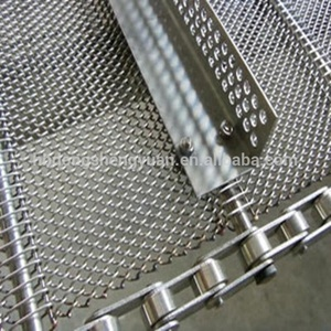 Stainless Steel wire conveyer belt mesh/ baking oven conveyer belt