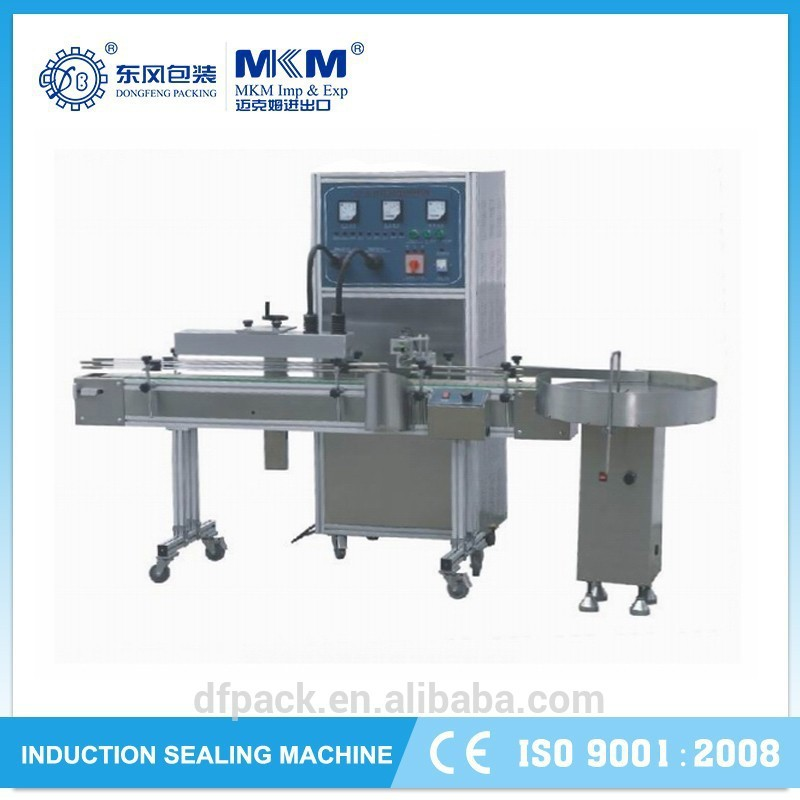 continuous glass bottles induction sealing machine/band sealer made in china LGYS-2500B