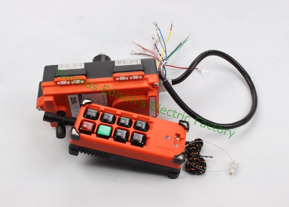 Dc 48 V Telecontrol Industrial grúa controlador 8 teclas 1