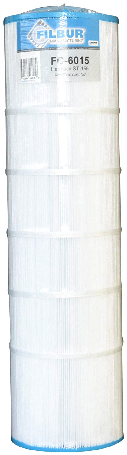 Filbur FC-6015 Antimicrobial Replacement Filter Cartridge for Harmsco ST155 Pool and Spa Filter