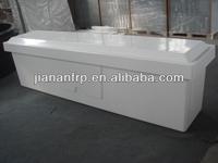 White dock box, FRP storage box durable fiberglass