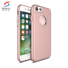 TPU oil injection metal buttons tpu mobile phone accessories case for apple iphone 7