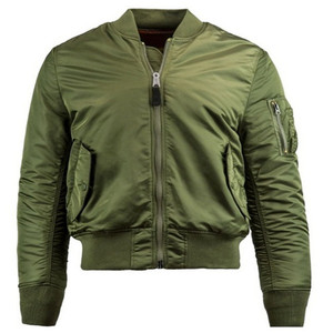 2222b1e3076 Green Air Force Military Reversible Custom Bomber Jacket Flight Coat Jacket