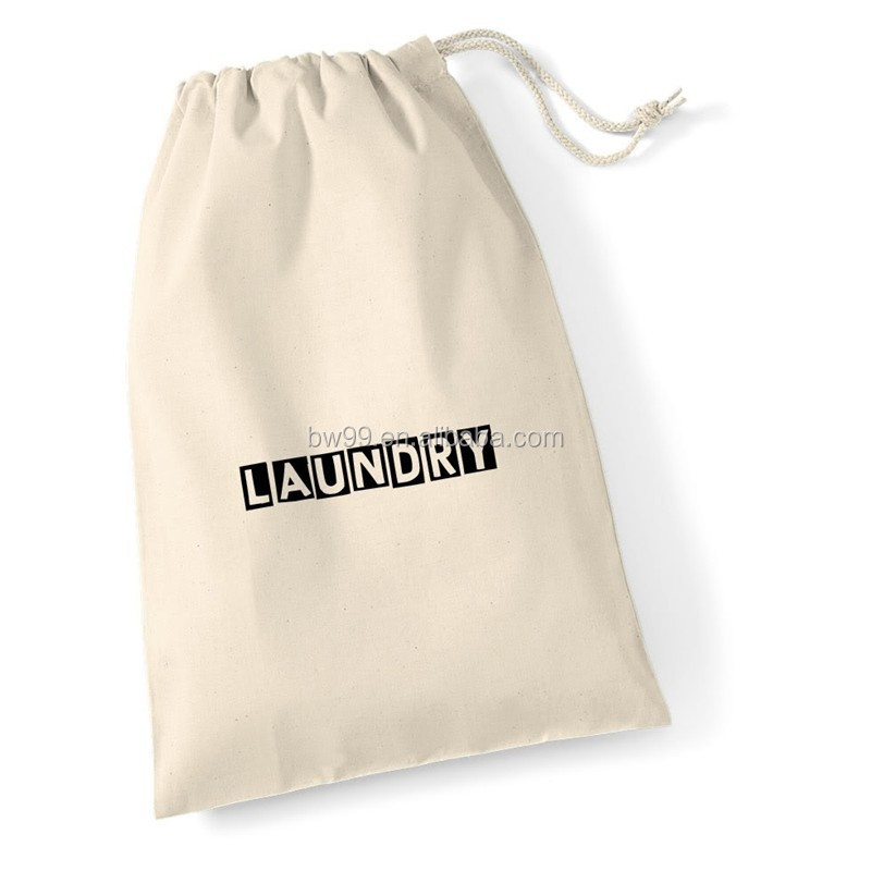 Wholesale cotton hotel laundry sack