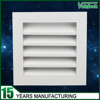 Ventilation Customized Size Air Conditioner Louver Air