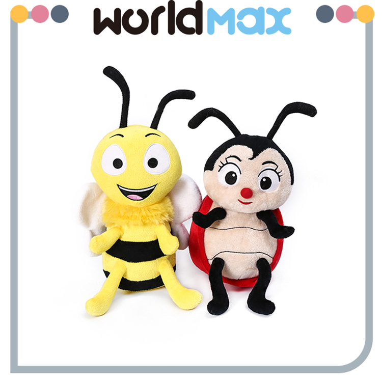 Fashionable Promotional Soft Kid Gift Cartoon Honey Bee Plush Toy