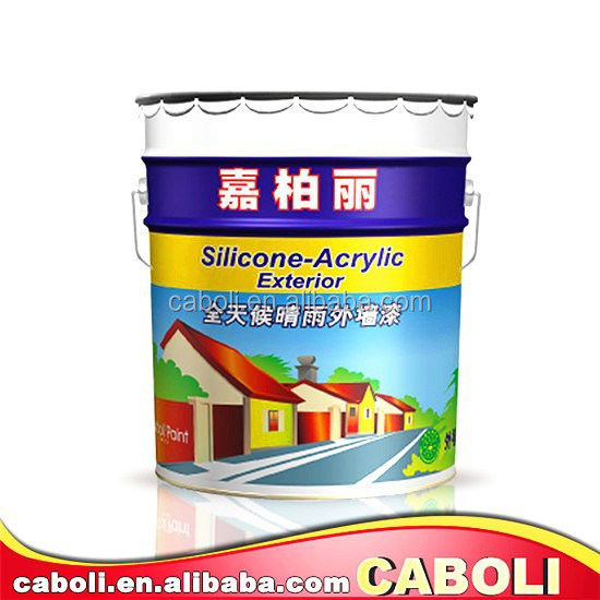 China High Heat Resistant Exterior Wall Emulsion Paint/uv