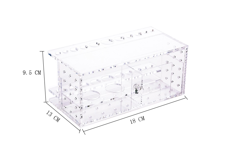 Acryl Up Organiser Make Borstel Houder Poeder Container