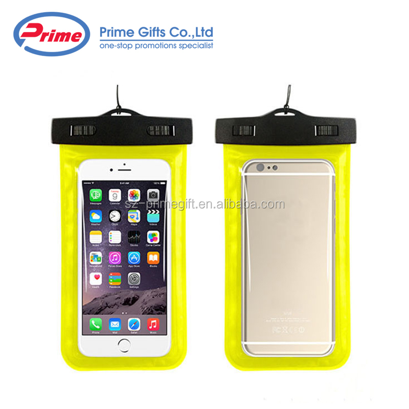 2018 Hot Selling Cell Phone PVC Waterproof Bag for Phone