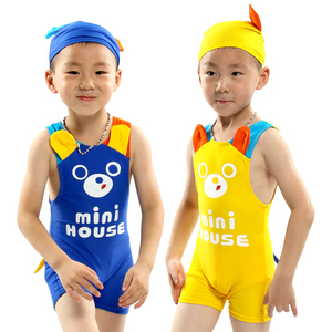 Online wholesale one piece rash guard European kids UV protected sexy swimwear for kids