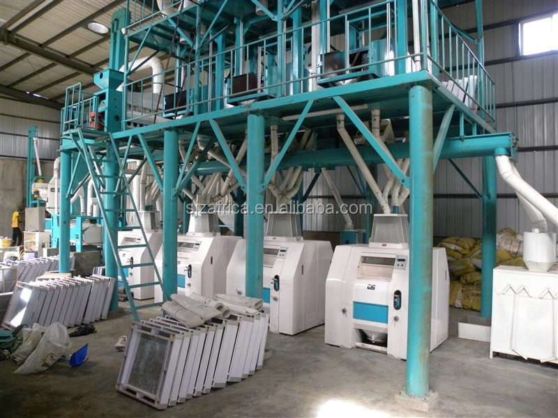 Kenya Maize Flour Milling Machine Maize Milling Machine