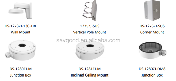 DS-2CD2383G0-I 8MP IR turret ip camera Savgood OEM version surveillance cctv ip camera
