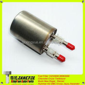 auto car fuel filter 13253690 88983068 for chevrolet cruze trailblazer  buick new regal rainier hummer h2