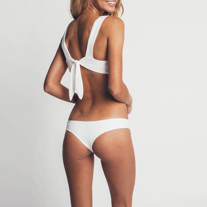 2020 Oem Meisjes Naadloze Bikini Mode Omkeerbaar 4 Way Wear Badmode