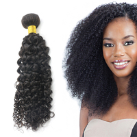 2017 hot selling new style 100% human expression curly hair weave