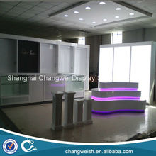 Virgin display fixtures ,wigs display shopfitting , retail display furniture for hair extensions