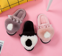 2018 new winter fashion cute Room18cm 생활에 봉 제 <span class=keywords><strong>슬리퍼</strong></span> women 홈 실 내용 warm non-slip 두꺼운 밑 면 <span class=keywords><strong>슬리퍼</strong></span>