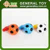 Plastic Football Type Flash Spinning Top Toy