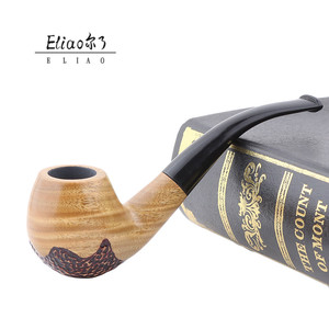 Yiwu Erliao special design herb smoking pipe best price weeb tobacco pipe