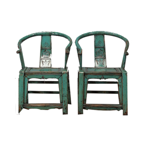 Antique style restaurant furniture rustic wood dining chair