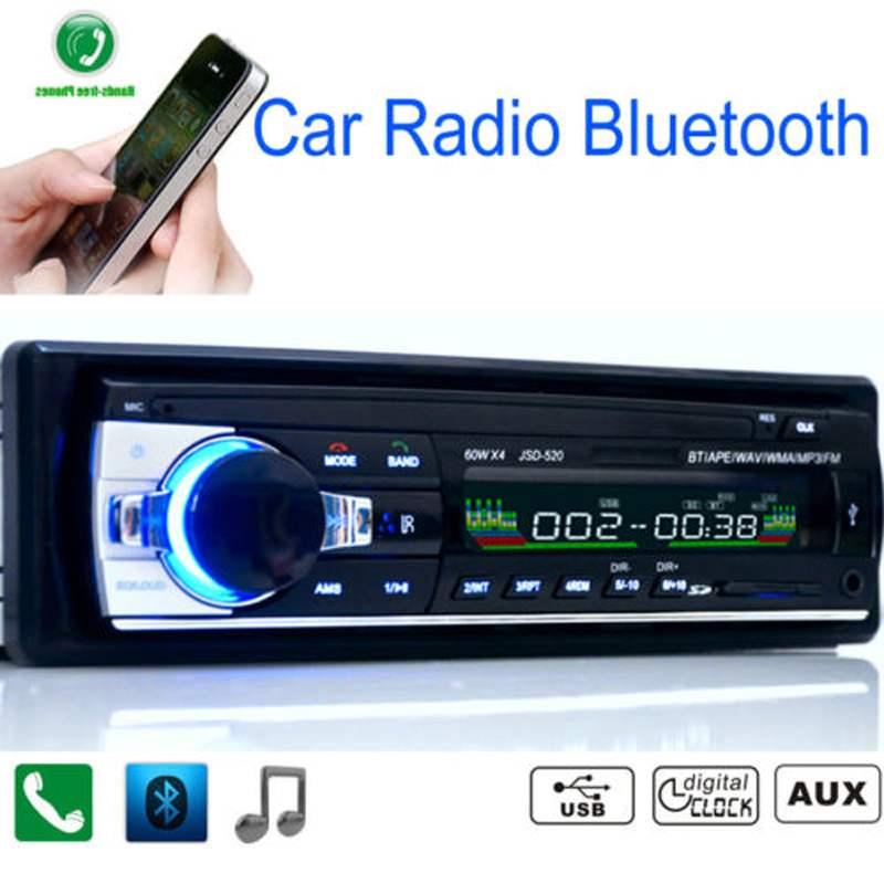 Бесплатная доставка! 12 В стерео FM радио MP3 аудио mp3-плеер поддержка Bluetooth USB / SD MMC порт автомобильная электроника в тире 1 DIN