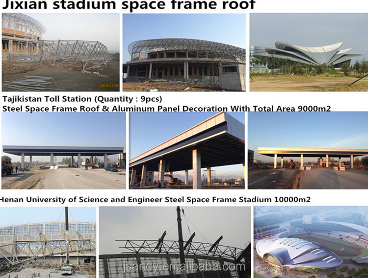 Outdoor Structural Football Stadium Membrane Structure Shed