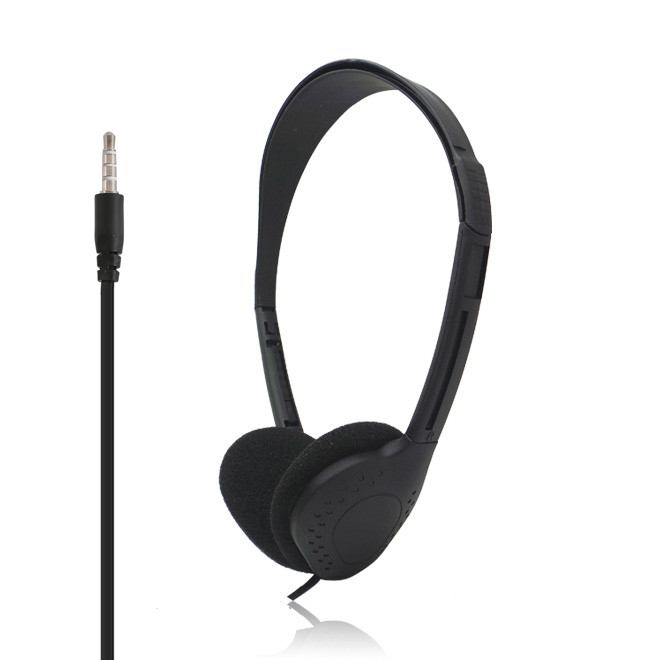 Cheap 3.5mm airline headphones aviation disposable headset