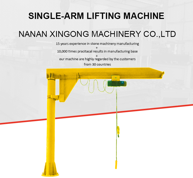 Explosion Proof Floor Mounted Cantilever Jib Crane