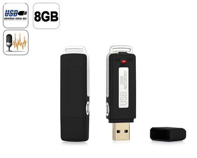 Mini Usb Flash Drive Type Voice Recorder,Flash Driver With Audio ...
