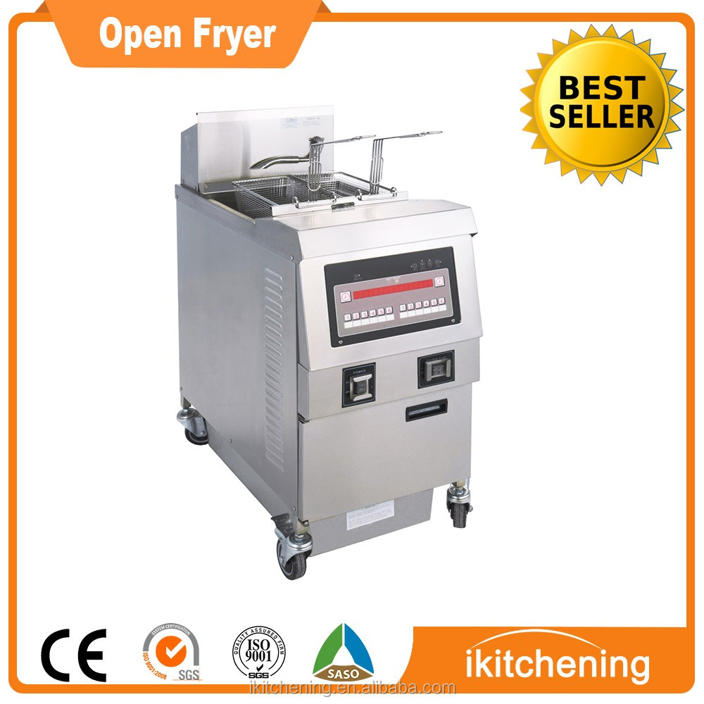 With Factory Directly Commercial Chicken Fryer Electric Chicken Frying Machine Gas KFC Fried Chicken Machine