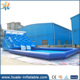 Huale factory inflatable Dolphin ocean wave water slide with swimming pool for water park