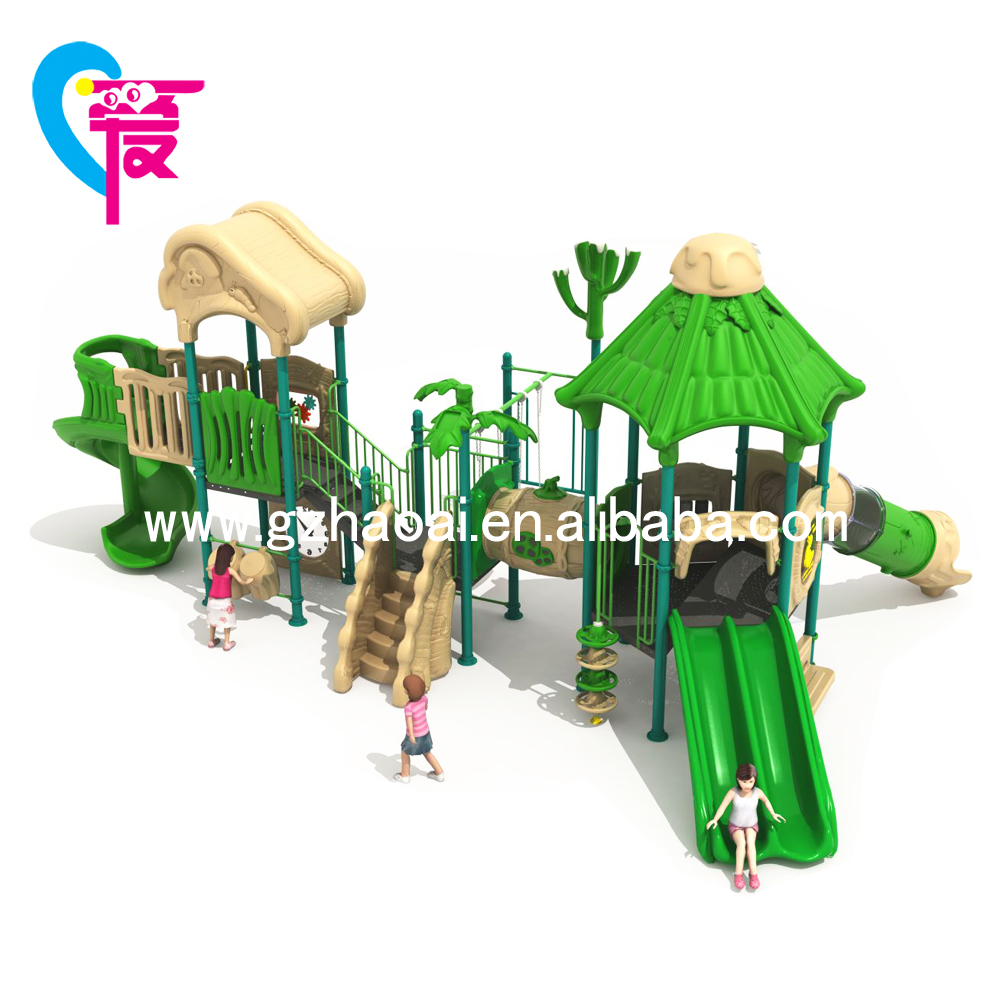 A-15167 Children Park Outdoor Playground Equipment Plastic Slide Quality Standard for Sale