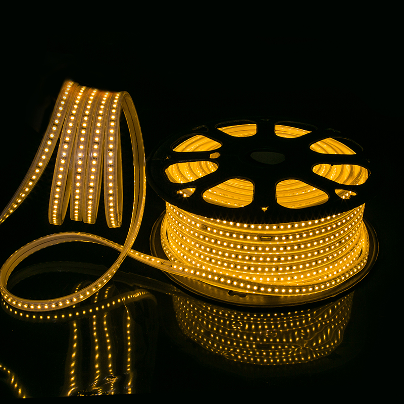 Outdoor decoration 220 volt led strip <strong>rgb</strong> 5050 60LED/Meter