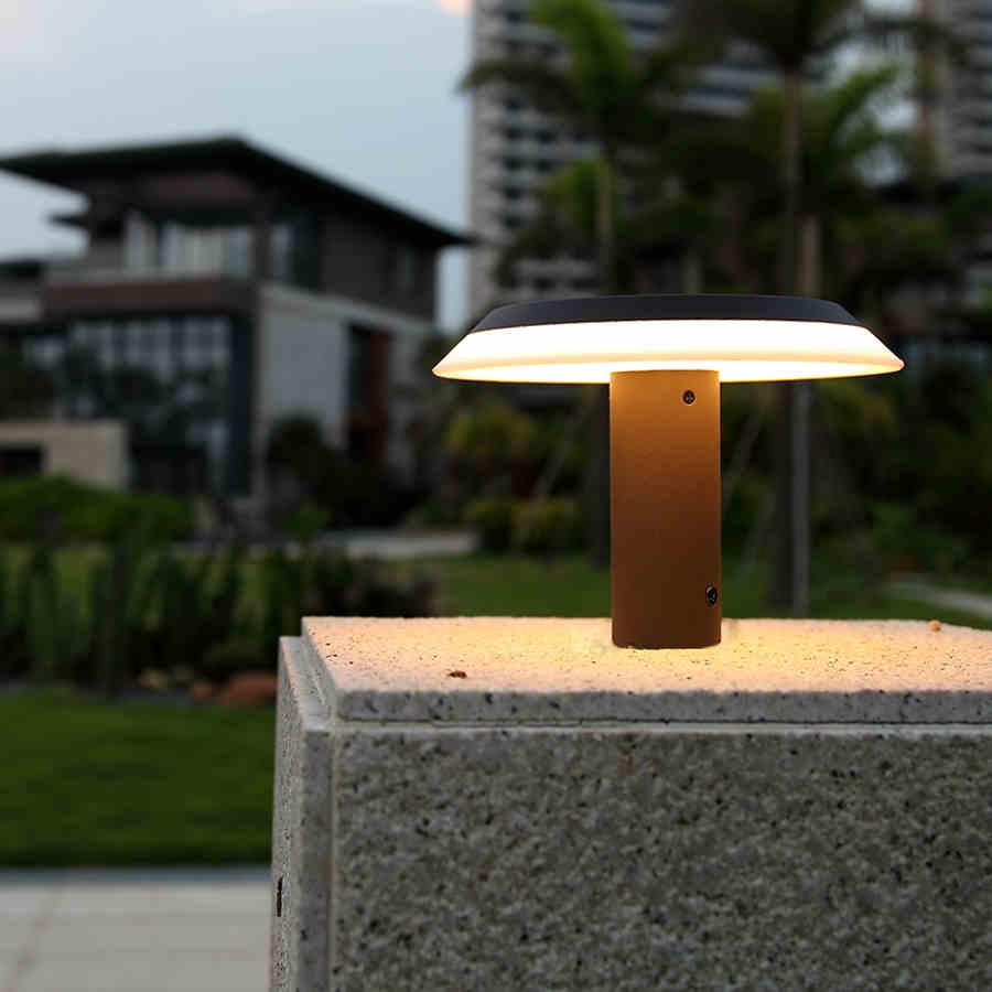 Online Whole Outdoor Pillar Lights From China