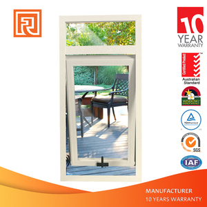 AU/NZ Standard Double Glazed Aluminum Awning Window With Germany SI brand