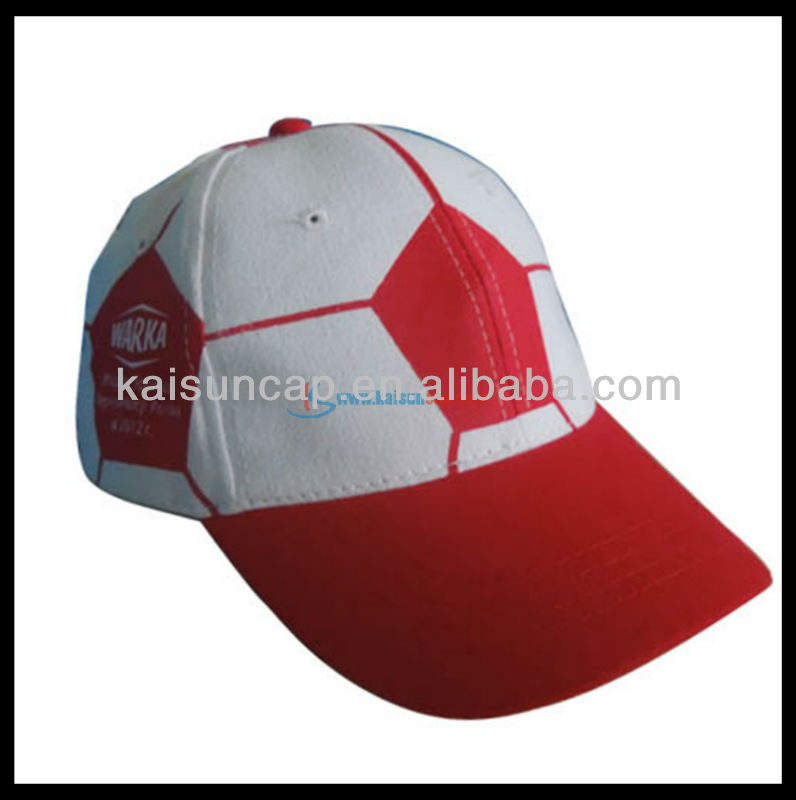 Hot sale 2014 promotion overall printing football cap