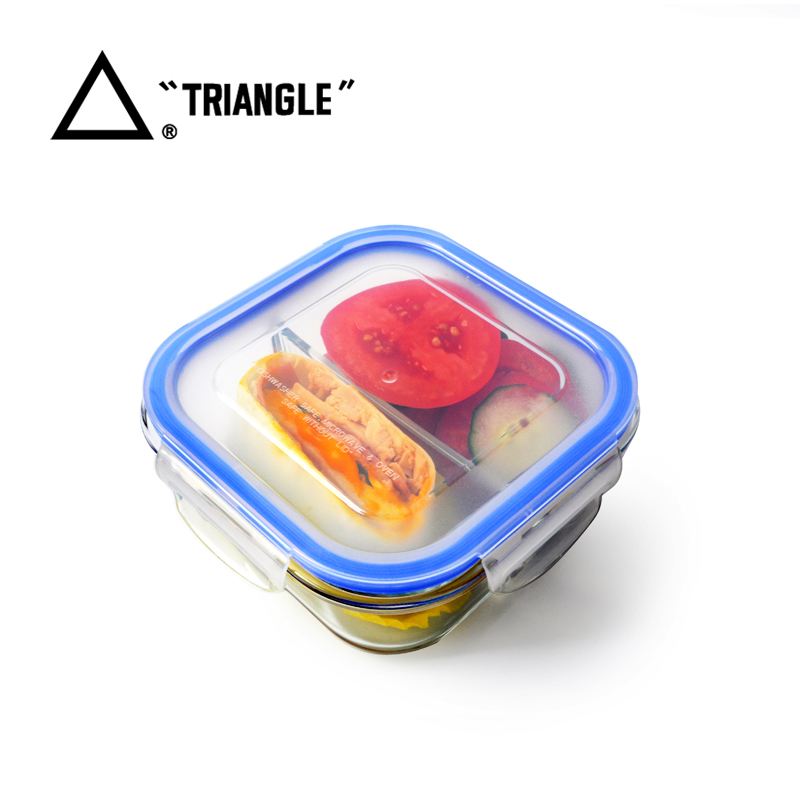 Professional Supplier Air Tight Lid microwave safe glass lunch tiffin