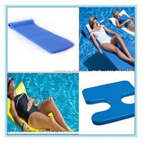 Foam Pool Float vinyl coated dipped Swimming Recreaton Floating Pool Lounge Water Bed Floating Mat