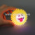 Tomtoy Emoji LED Light Up Spike Ball Toys with Sound