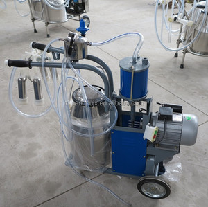 Single Bucket Piston Pump Milking Machine Used in Small Farms and Households