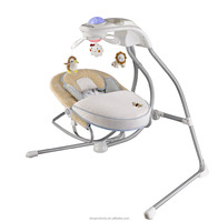wholesale luxury electric baby swing with mp3 playing