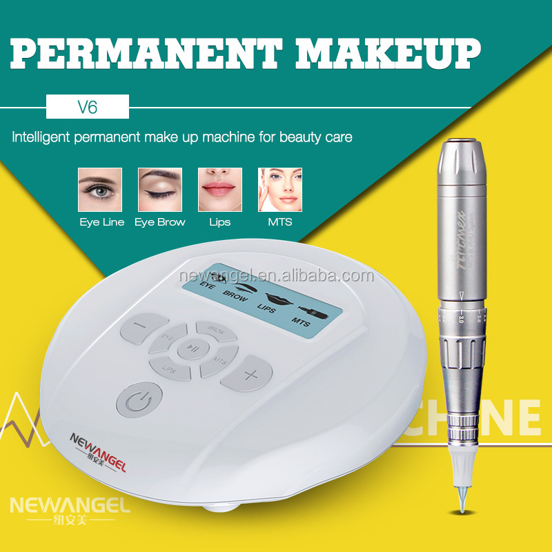 High quality rotary cosmetic tattoo gun 3d permanent make up machine