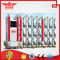 good price stainless steel automatic sliding safety gate electric school front gates J-1507