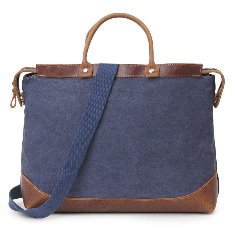 Vintage Fashion Canvas Men Briefcase Bag Business Bag Laptop Bag Canvas Handbag FX2012