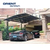 aluminium carport with arched roof